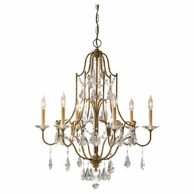 Valentina 6-Light Crystal Chandelier