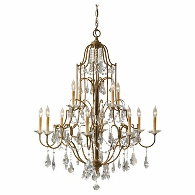 Valentina 12-Light Crystal Chandelier