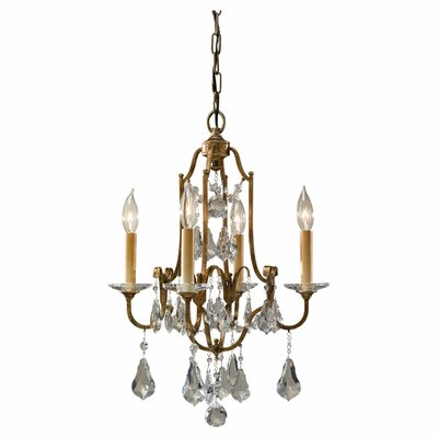 Valentina 4-Light Crystal Chandelier