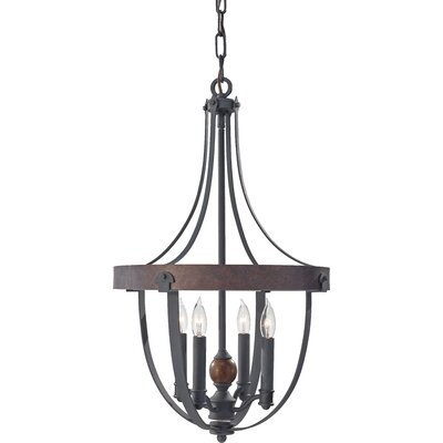Alston 4-Light Foyer Pendant