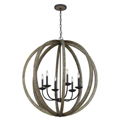 Flavien 6-Light Globe Pendant