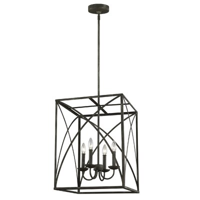 Jalonte 4-Light Foyer Pendant
