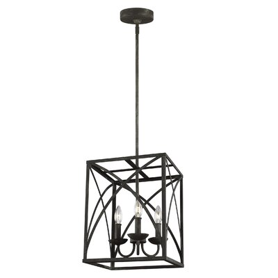 Jalonte 3-Light Foyer Pendant