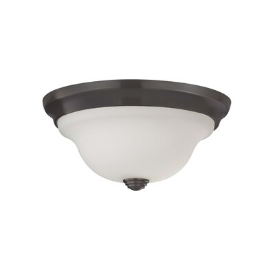 Pearce 1-Light Flush Mount Size: 5 H x 10.5 D