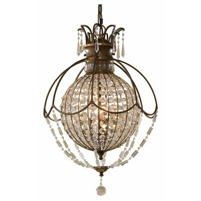 Bellini 3-Light Foyer Pendant