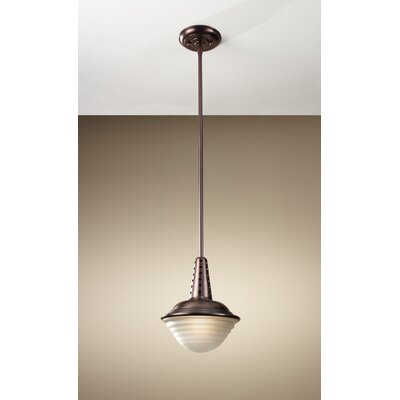 Urban Renewal 1-Light Mini Pendant Finish: Plated Copper Bronze