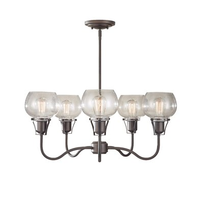 Urban Renewal 5-Light Candle-Style Chandelier