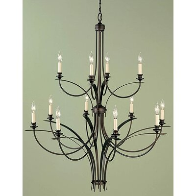 Boulevard 12-Light Candle-Style Chandelier