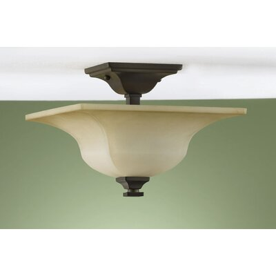 American Foursquare 4-Light Semi Flush Mount