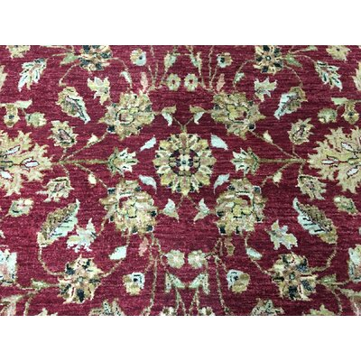 One-of-a-Kind Baron Oriental Hand Woven Wool Red Area Rug