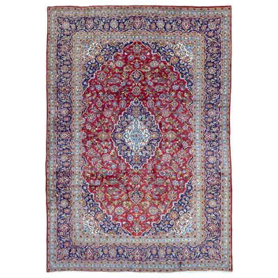 One-of-a-Kind Ander Persian Antique Heriz Oriental Hand Woven Wool Red Area Rug