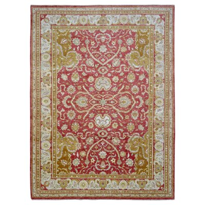 One-of-a-Kind Pearle Hand Woven Wool Gold Area Rug