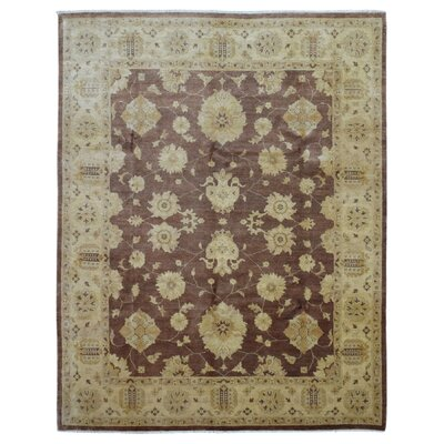 One-of-a-Kind Pearle Hand WovenWool Beige/Brown Area Rug