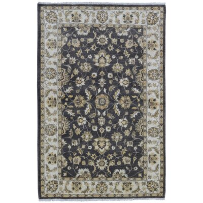 Ardith Hand Woven Wool Brown/Beige Area Rug