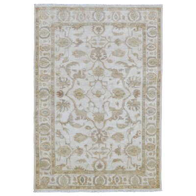 Ardith Traditional Hand Woven Wool Beige Area Rug