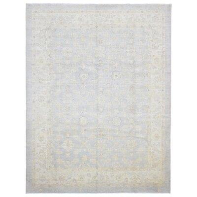 Ardith Hand Woven Wool Gray/Beige Area Rug
