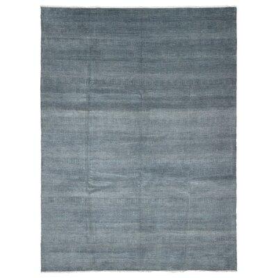 Puccio Hand Woven Gray Area Rug