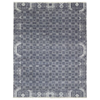 Sascha Hand Woven Wool Gray/White Area Rug
