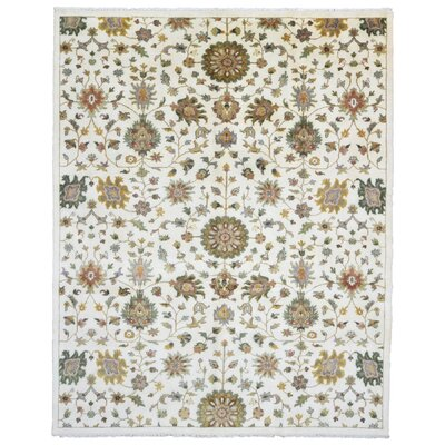 Ardith Traditional Hand Woven Wool Beige/Brown Area Rug