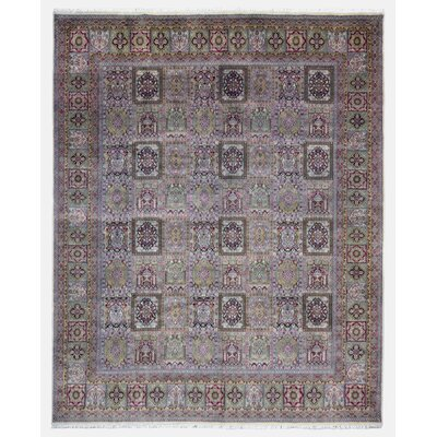 Savanna Bakhtiari Oriental Hand Woven Wool Green/Brown Area Rug