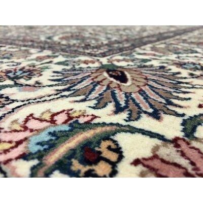 Ballyclarc Oriental Hand Woven Wool Beige/Brown Area Rug