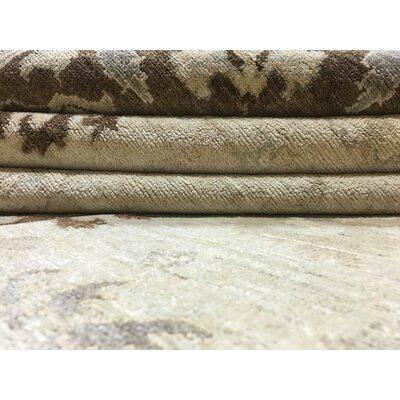 Ardith Hand Woven Wool Beige Area Rug
