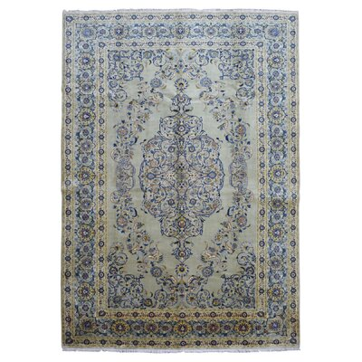 One-of-a-Kind Jeannetta Hand Woven Blue Area Rug