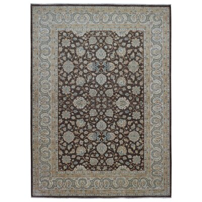 One-of-a-Kind Ardith Hand Woven Wool Brown/Gray Area Rug