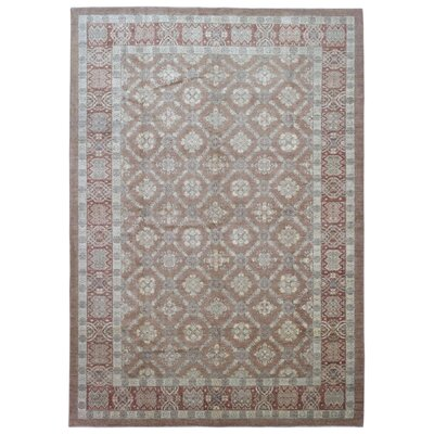 One-of-a-Kind Ardith Hand Woven Brown Area Rug