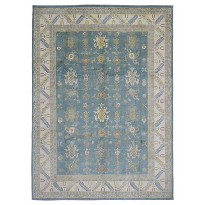 One-of-a-Kind Ardith Hand Woven Blue/Brown Area Rug