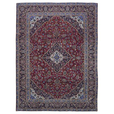Ballynure Traditional Oriental Hand Woven Wool Red Area Rug