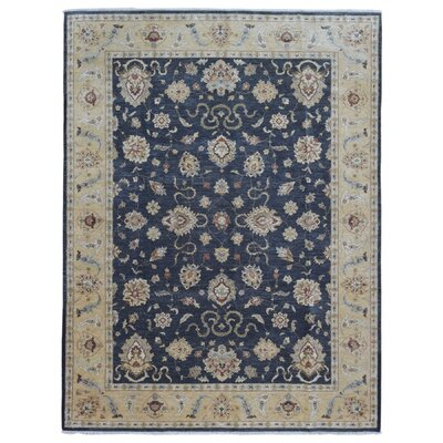 One-of-a-Kind Ardith Hand Woven Blue/Beige Area Rug