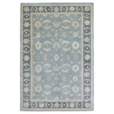 One-of-a-Kind Ardith Hand Woven Blue Area Rug