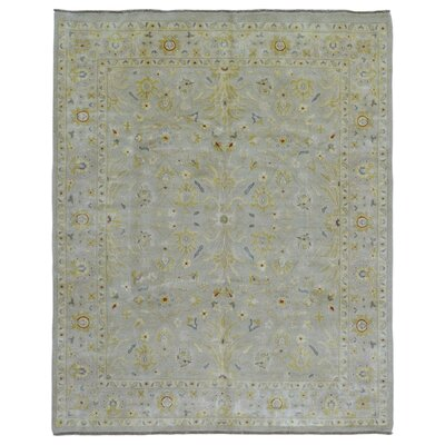 One-of-a-Kind Ardith Hand Woven Wool Beige Area Rug