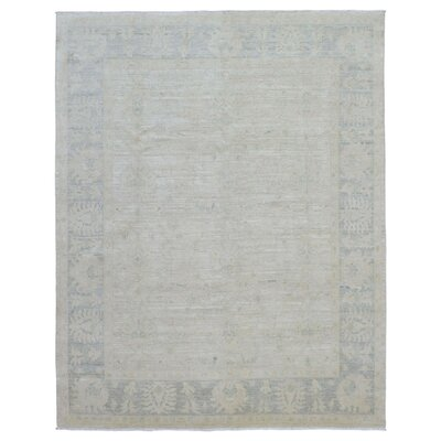 One-of-a-Kind Ardith Hand Woven Gray Area Rug