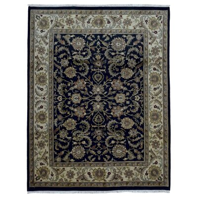 One-of-a-Kind Ballyclarc Hand Woven Wool Black/Gray Area Rug