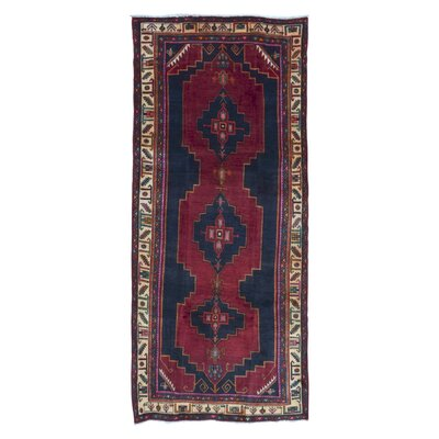 One-of-a-Kind Sally Hamadan Oriental Hand Woven Red Area Rug