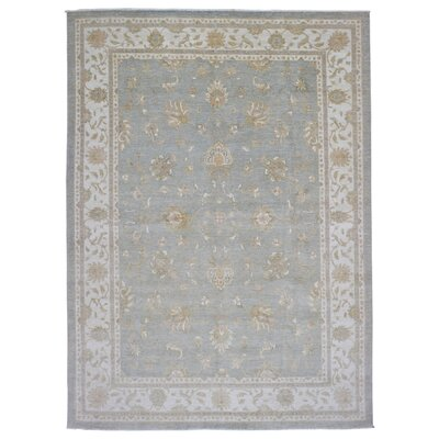 One-of-a-Kind Ardith Hand Woven Gray/Blue Area Rug