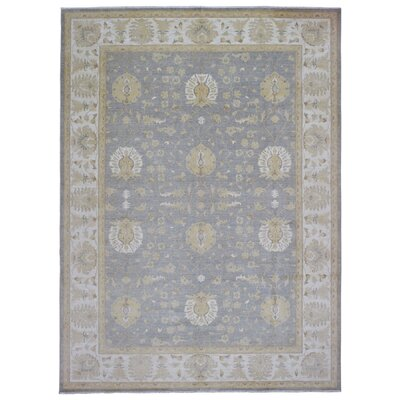 One-of-a-Kind Ardith Hand Woven Wool Blue/Gray Area Rug