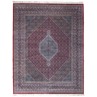 One-Of-A-Kind Hand Woven Wool Brown/Gray Area Rug