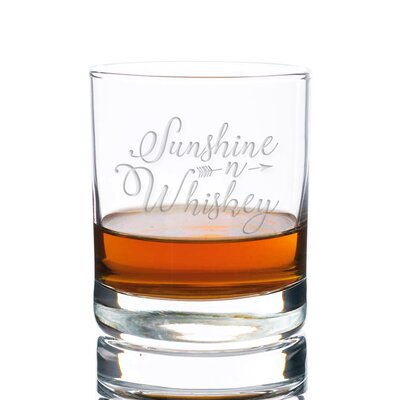 Sigler Sunshine N Whiskey Rocks 10 oz. Glass Every Day Glass
