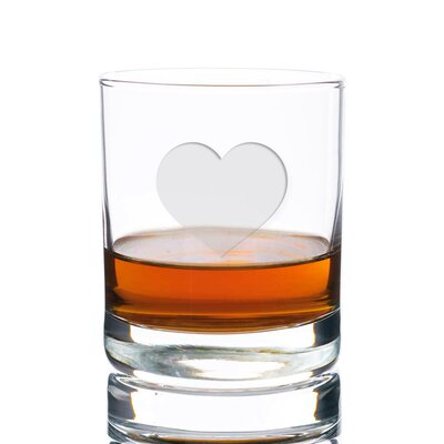 Sneller Heart Rocks 10 oz. Glass Every Day Glass