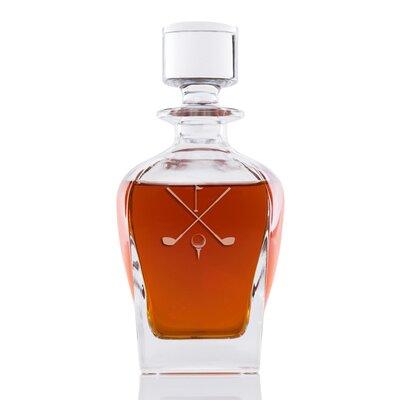 Alixandra Golf Whiskey 24 oz. Decanter DBHM7821 42923774