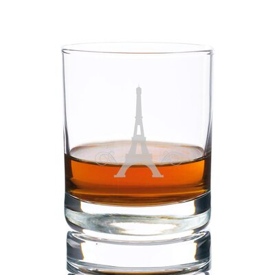 Sneller Eiffel Tower Rocks 10 oz. Glass Every Day Glass