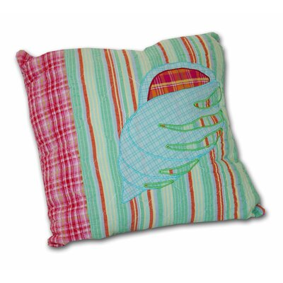 Island Paradise Decorative Cotton Shell Throw Pillow