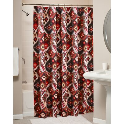 Folk Festival Rustic Shower Curtain