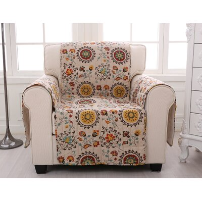 Andorra Quilted Furniture Protector Size: Arm Chair