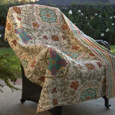 Chantrell Spice Cotton Throw Blanket