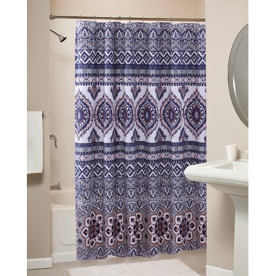 Medina Shower Curtain Color: Saffron