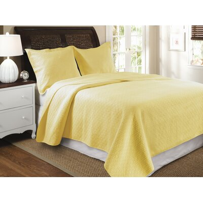 Greenland Home Fashions Bella Ruffle Quilt Set | Wayfair